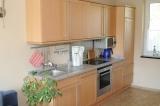 Einbauküche mit Geschirrspüler, Ceranfeld, Backofen ...